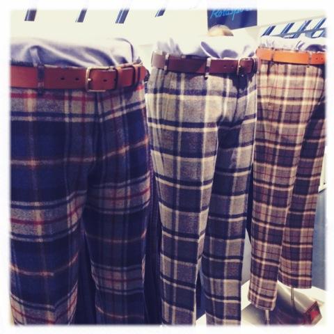 Plaid pants by Rota Photo by Bonnie Dain