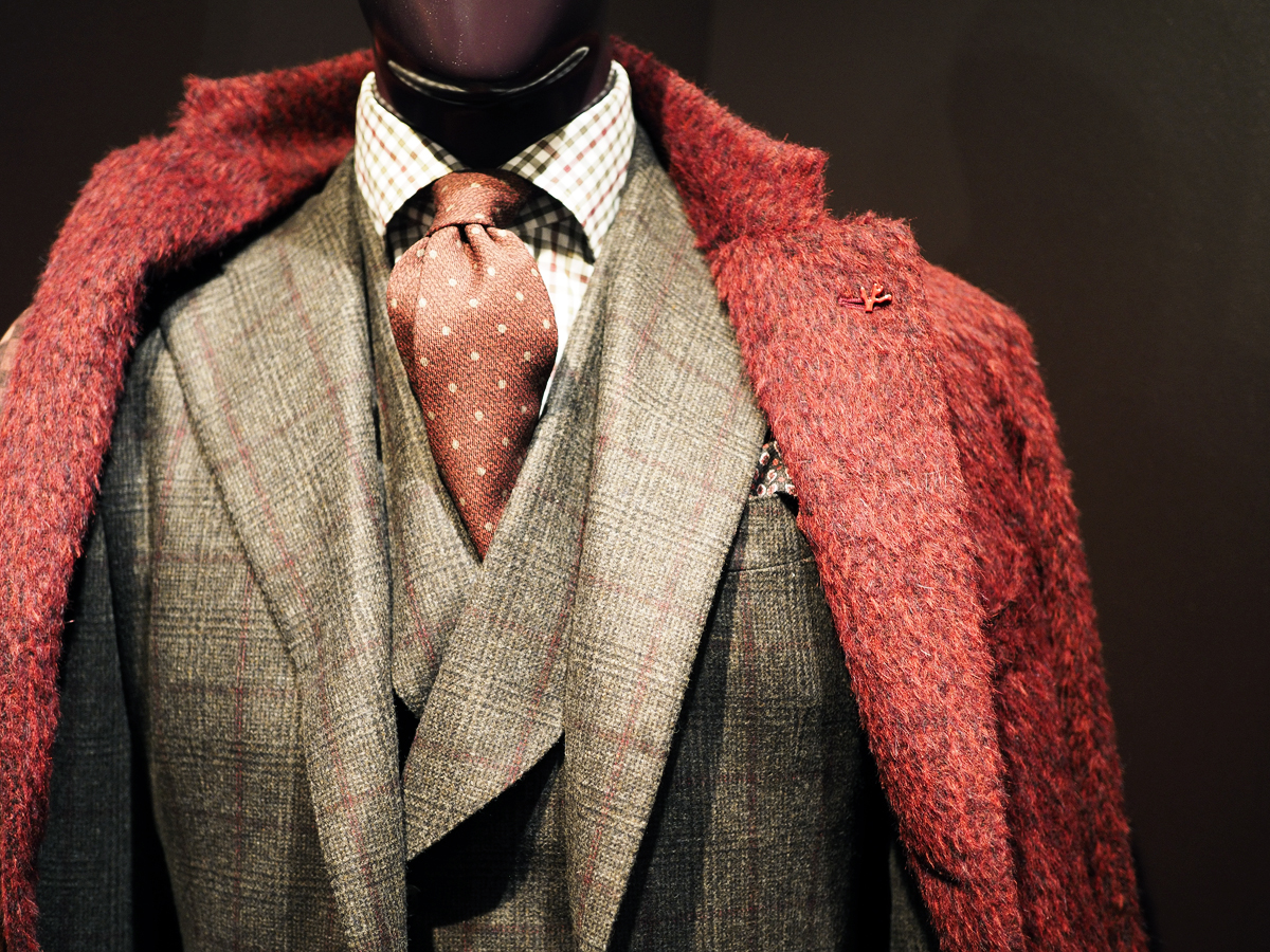 Isaia coat and suit<br /> Photo by Salvo Sportato
