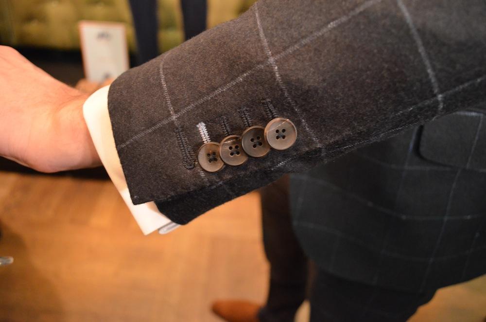 hand made horn buttons from Circle of Gentlemen