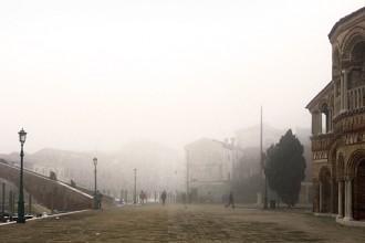 Venice on a foggy day. Photo by Salvo Sportato