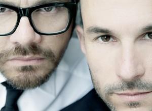 Silvano Arnoldo and Massimiliano Battois, the faces behind the brand.
