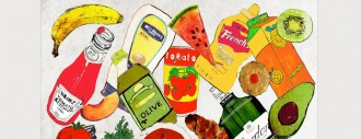 Limited Edition Groceries Print by Jessica Russell Flint