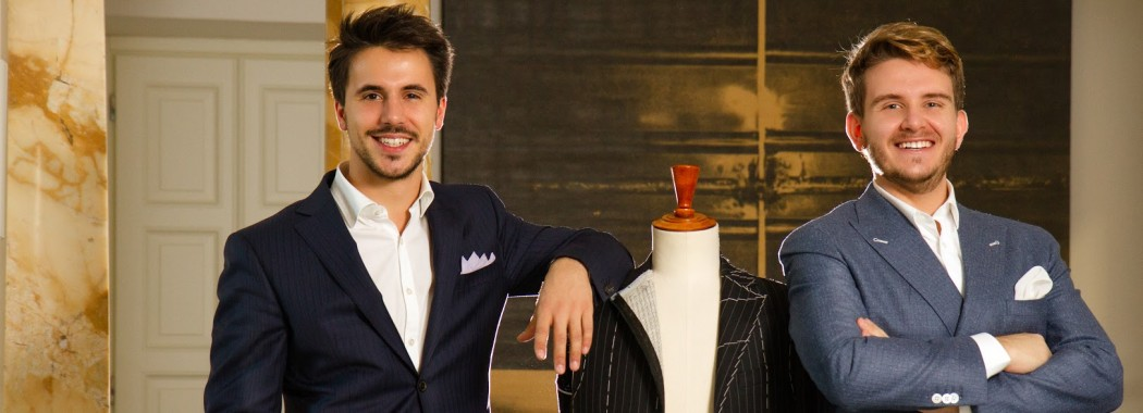 Lanieri co-founders   Riccardo Schiavotto and Simone Maggi.  Photo: GQ Italia